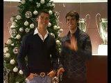 Криштиано Роналдо и Кака - Поздравления на рождество)))